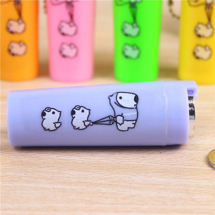 Tube boîte Enregistrer changement Organisateur Tirelire Tirelire pour les enfants bourse portable 8x3x3cm ronde 1pcs Cartoon plastique Porte-monnaie