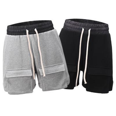 19SS шорты брюки Hiphop Streetwear Мужчины Карманный Casual Shorts Америка High Streetwear Одежда Multi-мешок спецодежда шорты мужские