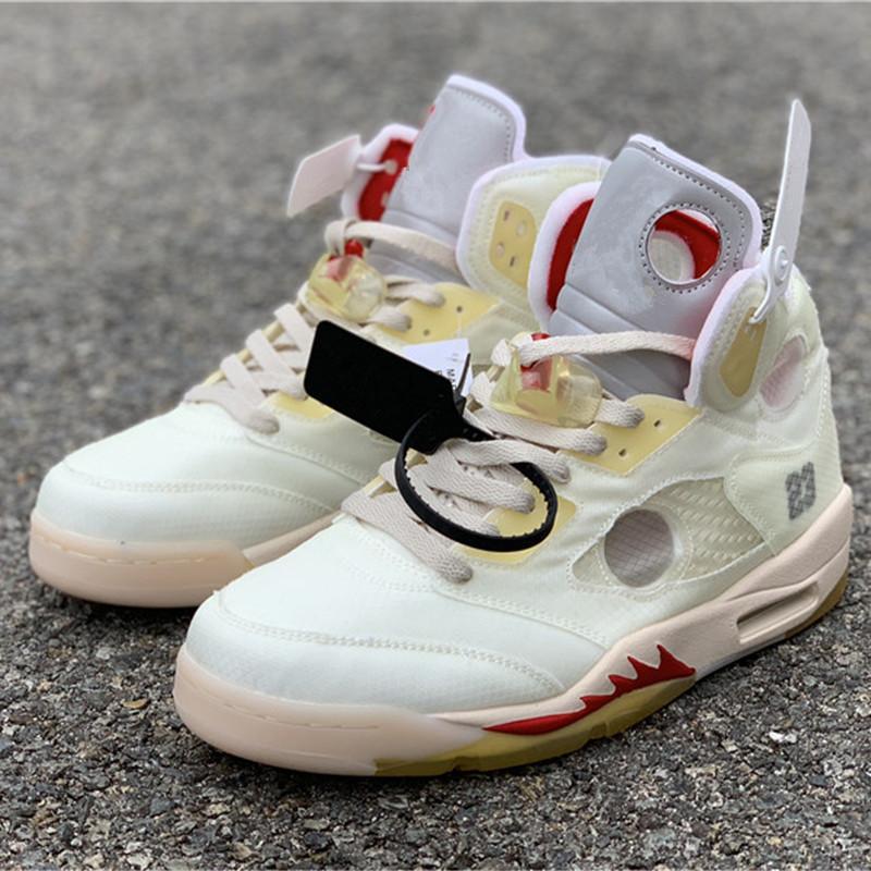 La meilleure qualité V 5 Jaune Chaussures de basket-Grayish de Hommes SP Sport Chaussures bateau avec la boîte Taille de US7-13