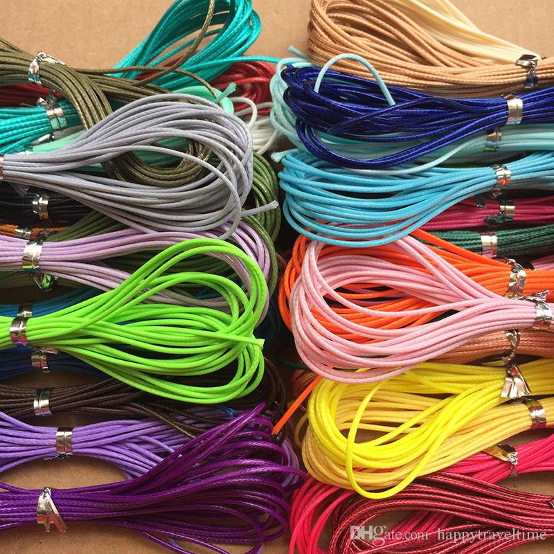 1mm 4M Waxed Cotton Finding Thread Cord Rope DIY Making Fabric Woven Bracelet Necklace Braided Beadwork Beading Accessory