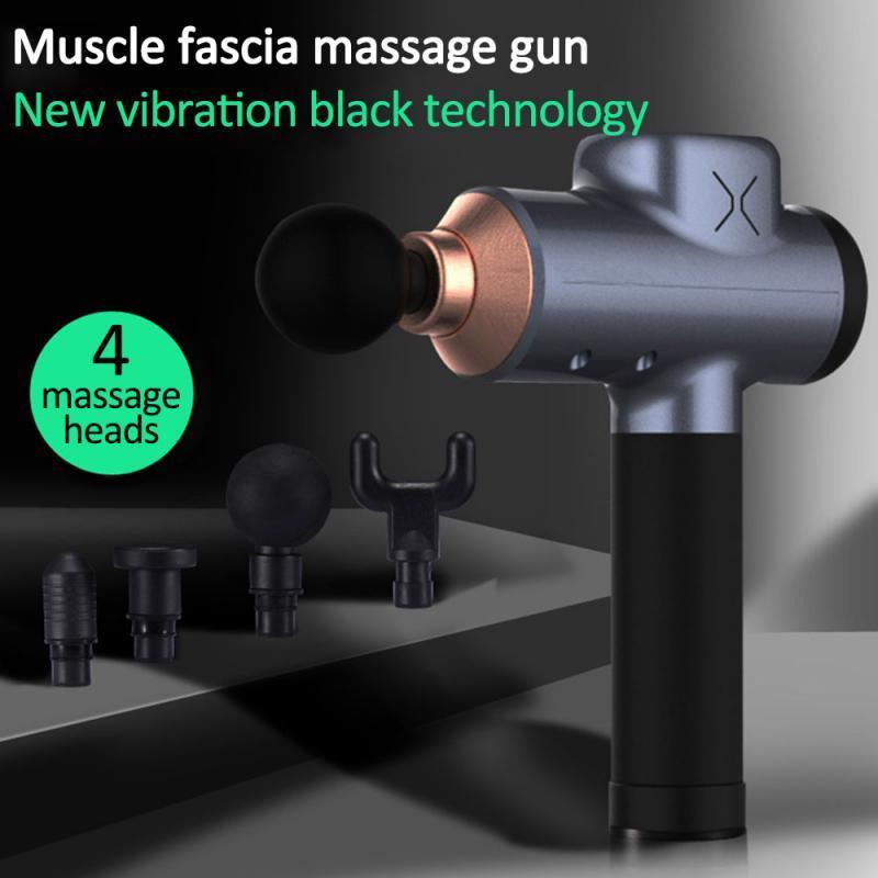 Muscle Massage Gun Percussion Fascia Sporttherapie Körpermuskeltiefenentspannung Massagermaschine Vibrador Theragun Schmerzlinderung