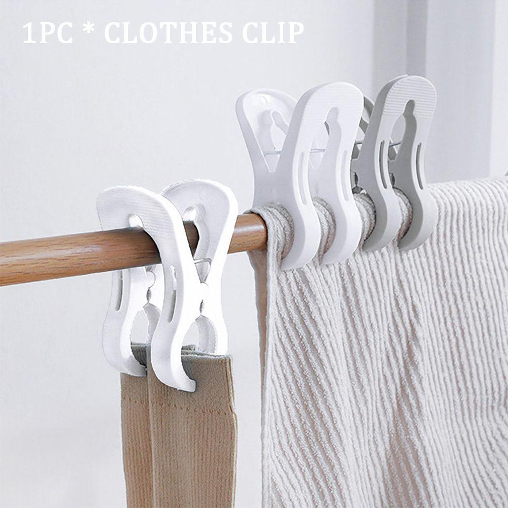 Secagem Pegs Household bidentados Lavandaria japonês casaco estilo toalha Grande Quilt roupa à prova de vento Clipe de Roupa braçadeira portátil