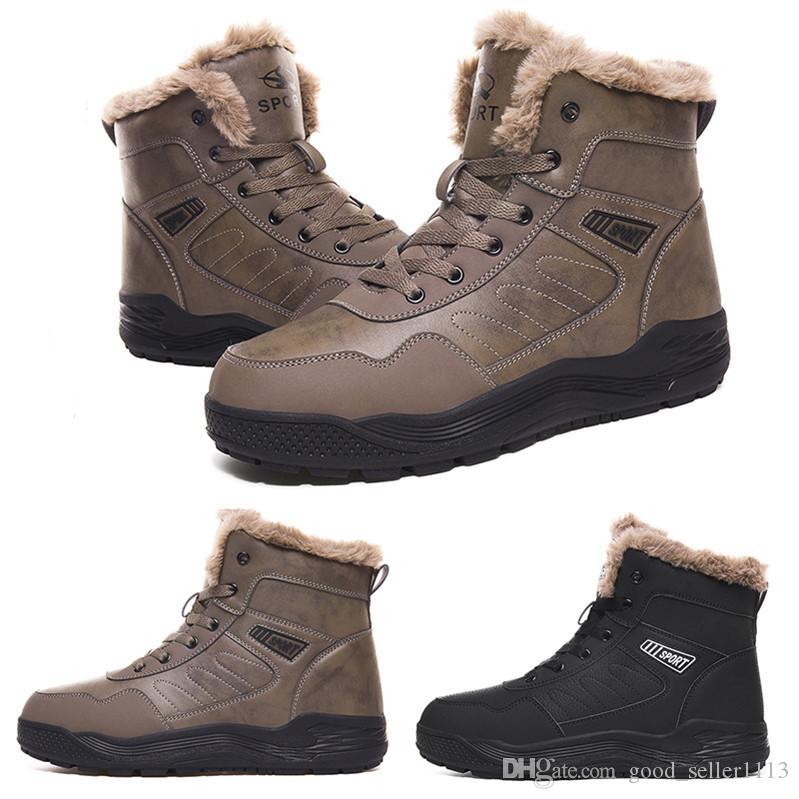 2020 Скидка горячий дизайнер kind10 мягкий черный серый плюс бархат shop01 мужчина мальчик мужчин сапоги мужские кроссовки ботинка тренеров на открытом воздухе обувь для ходьбы