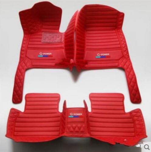 BMW 1 2 3 4 5 6 7 Serisi GT X1 X2 X3 X4 X5 X6 Z4 M1 M3-M4 M6 X3 X4 X5 X6 M 2000-2020 lüks özel su geçirmez Kaymaz yer paspası için uygun