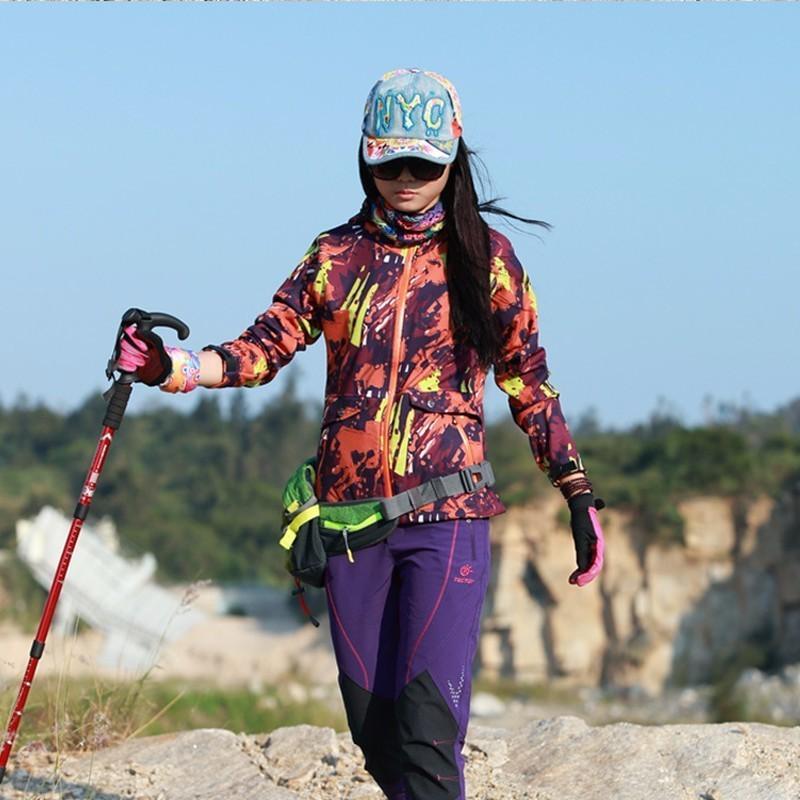 Großhandel Frühling Herbst Frauen Camouflage Softshell Warm Lose Mantel Windschutzladung Kleidung Im Freien Bergsteigen Trekking Shirt Von Teawugong,