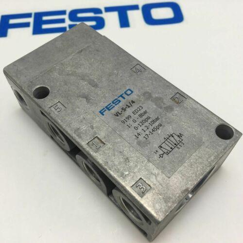 один регулирующий клапан New Festo Pneumatic VL-5-1 / 4 9199 Быстрая доставка # YP1