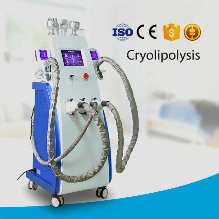 Latest Cryolipolysis With 3 Cryo Handles Fat Freeze Slimming Weight Reduce Body Shaping Machine Cool Technology 360° Home-Use