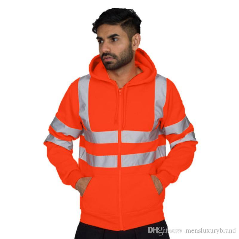الشتاء الرجال سترة هوديس مصمم أزياء نصب منصة الرياضة هوديس عارضة البشر الصوف الملابس