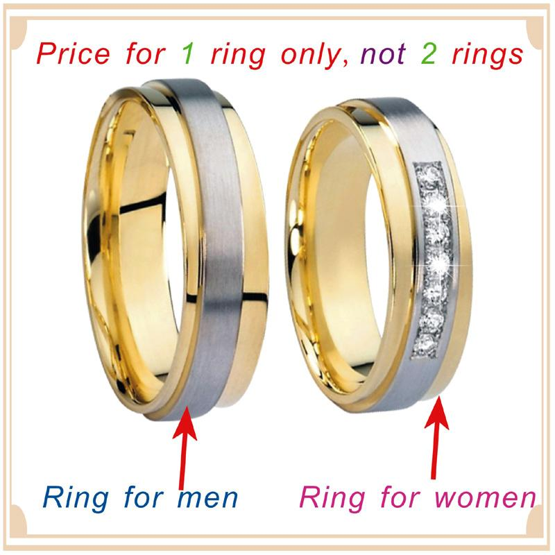 2020 Ladies Love Alliance Promise Wedding Rings Set For Men And Women Gold Color Stainless Steel His And Hers Marriage Couple Ring From Dhgateclothings 15 2 Dhgate Com
