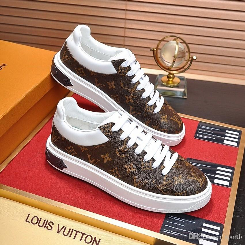 Acquista Louis Vuitton Scarpe Da Uomo Casual U6 Alta ...
