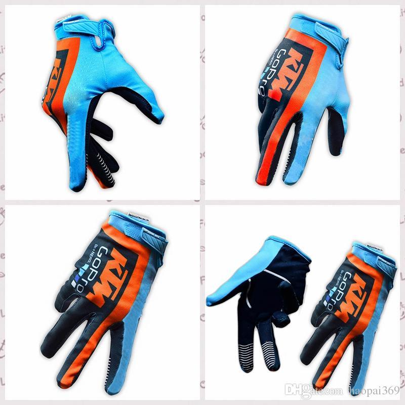 KTM équipe Gants De Vélo Sports De Plein Air montagne vélo Racer Gants Vélo Équipement De Protection taille M L XL Gants Y529001