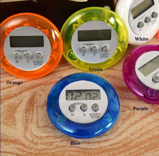 Digitale Magnetische Mini LCD-stopwatch Timer Keuken Racing Wekker Stop Horloge Emory Function Timer Keukengereedschap Heet
