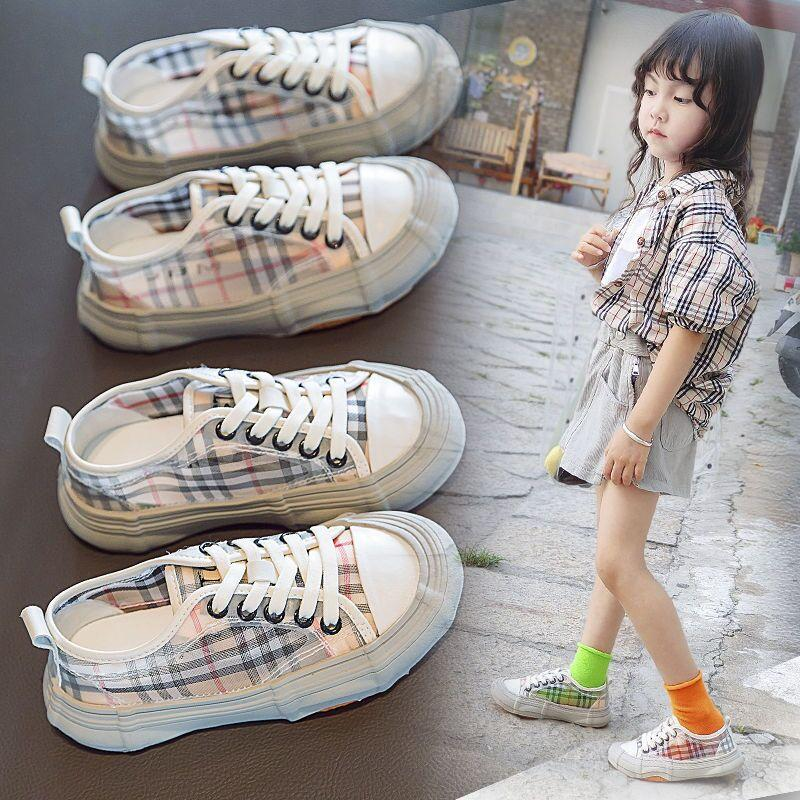 2020 New Kids Running Canvas Shoes Sneakers Baby Toddler Shoes Infant Children Boys Girls Chaussures Pour Enfant EU Size 26-36