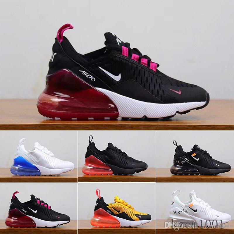 Airs Almofada sapatilhas esportivas Designers Mens Running Shoes instrutor crianças Estrada Juventude BHM Ferro Maxes Mulheres Sneakers Tamanho 28-35 YY6TC