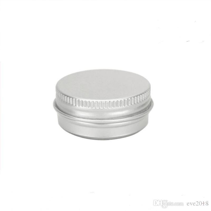 Frete Grátis 15g De Alumínio Lip Gloss Recipiente 15 ml Caixa De Batom De Metal Jar Lip Balm Embalagens De Cosméticos, 1000 pçs / lote LX6022