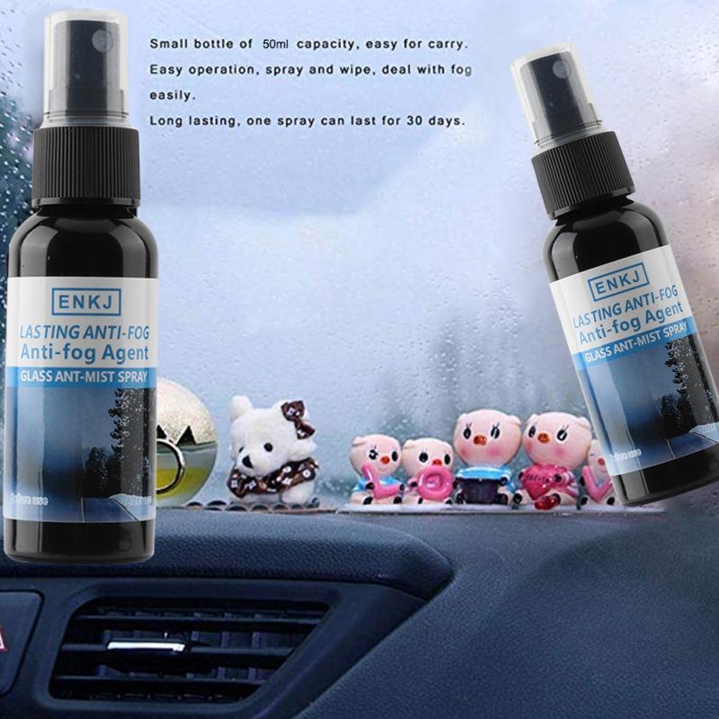 100٪ الشعبية 50ML نافذة السيارة رش منظف زجاج النوافذ المعطف مكافحة الضباب وكيل المياه طارد زجاج منظفات