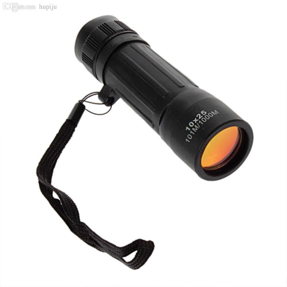 Wholesale-1pcs Protable Monocular Telescope 10x25 Scope Hiking Hunting Camping Sports New Free Shipping hot