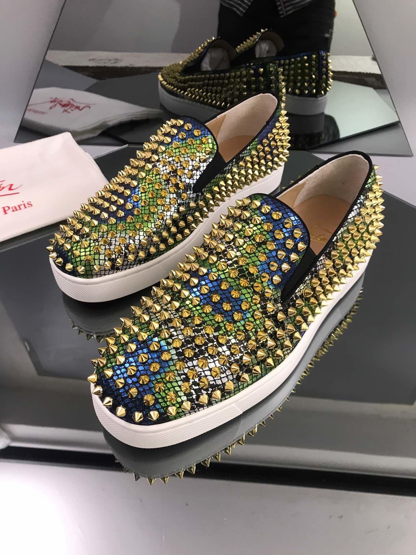 Роскошная мода модельер женская обувь Мужская обувь тренер платформа повседневные кроссовки цветные красные днища огненный размер продукта 35-46