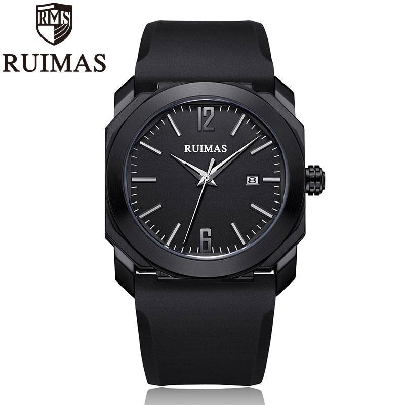 Ruimas Men'S Quartz Watches 2019 Male Clock Men'S Military Wrist Watch For Men Luxury Casual Waterproof Gentleman Branded Watch