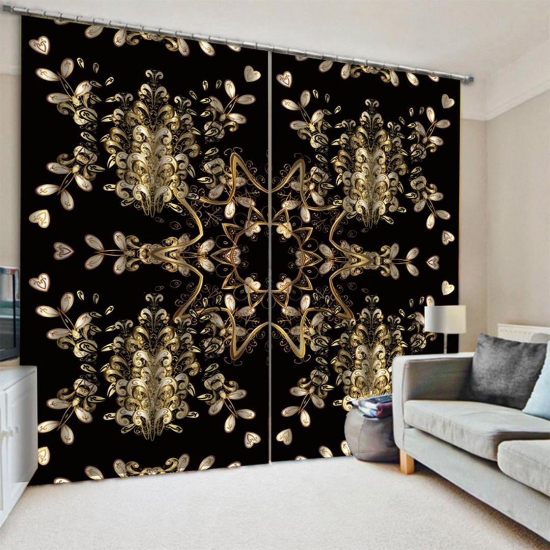2019 Coloful Curtain Nuova Blackout window Tenda durevole 3D tende tende la casa tende tessili per Soggiorno Camera da letto