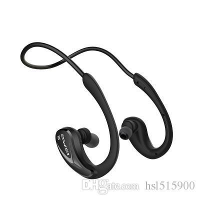 Лучшие продажи новых A880BL спортивный Bluetooth двусторонняя стерео висячие наушники 4.0 гарнитура наушники работает беспроводная гарнитура