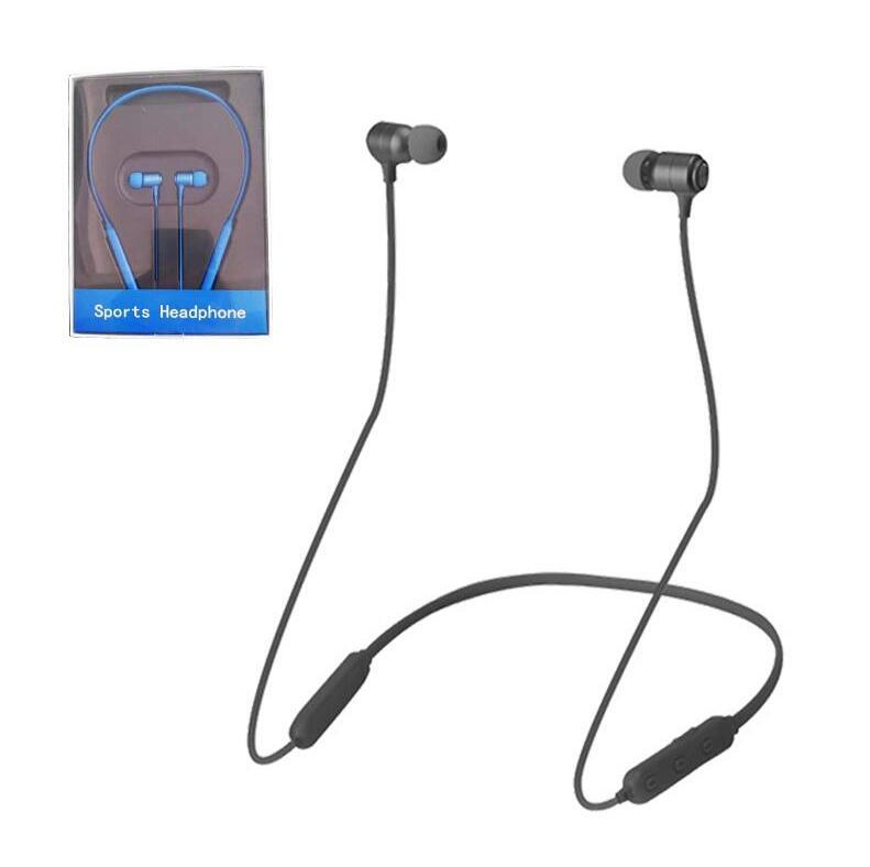 Bluetooth Headphone S20-01 Magnetic Wireless Running Sports Earphone Headset BT 5.0 With Mic MP3 Earbuds For iPhone LG Smartphone