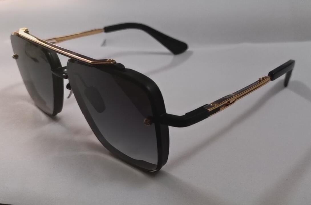 Новое высокое качество шести мужские солнцезащитные очки, солнцезащитные очки, мужские женские солнцезащитные очки, мода стиль защищает глаза Gafas от золь люнеты де Солей с коробкой
