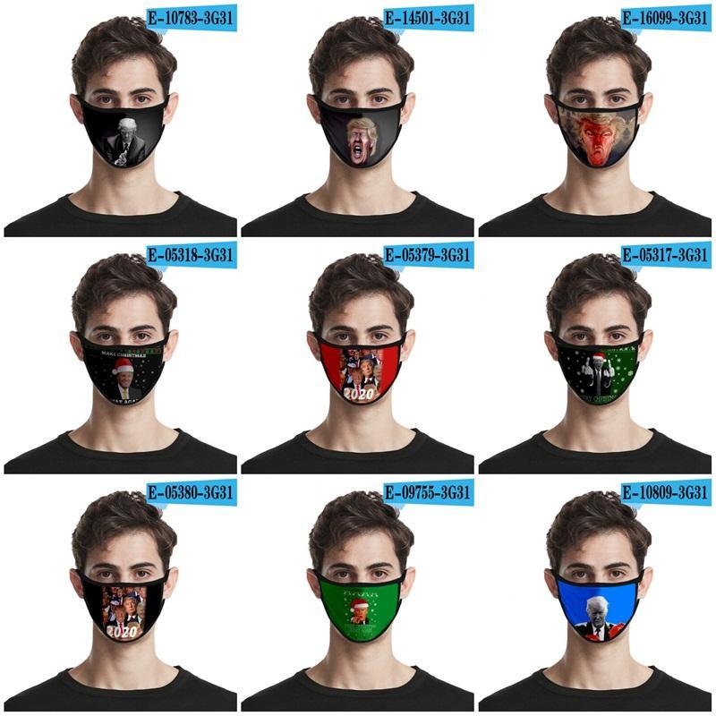 2020 Stati Uniti d'America Presidente Elezione Bocca Maschere Ice Seta Anti polvere e di sole viso Protezione Maschera americano Trump respiratore figli adulti 2 2OH E19