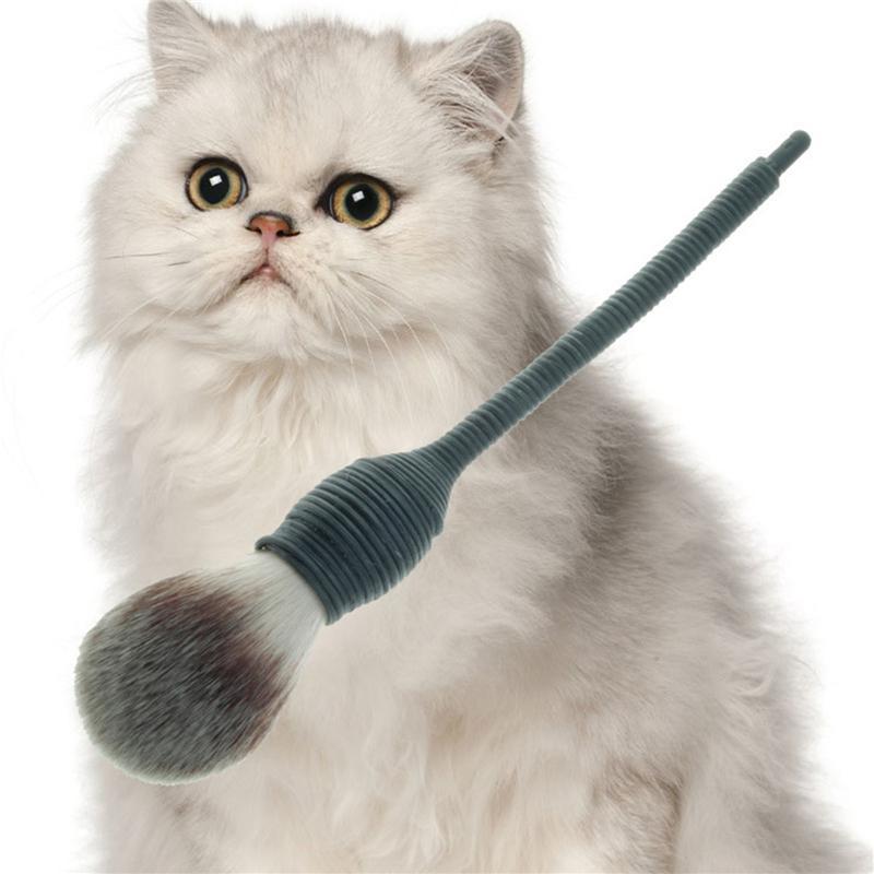 1шт 13см Тактично Коническая спираль купол Глава Плоский контур румяна Powder Makeup Brush Природа Goat Hair Cosmetic Подарочный набор для женщин