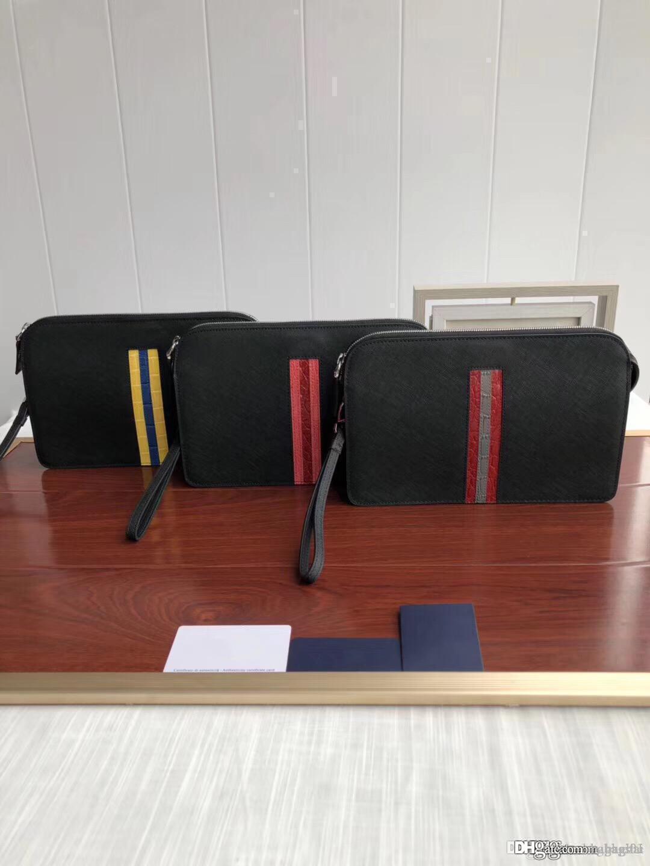Kits de sac à main homme Toiletry grab main sacs à main Les cowleather 2018 sacs de créateurs de luxe de marque de mode sac à bandoulière célèbre bagsdesigner 20AA