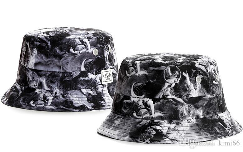 New Outdoor Bucket Hats for men women Cayler & Sons Fisherman Cap Camping Hunting Chapeau bob Bucket Hat Panama Summer Sun Beach Fishing Cap