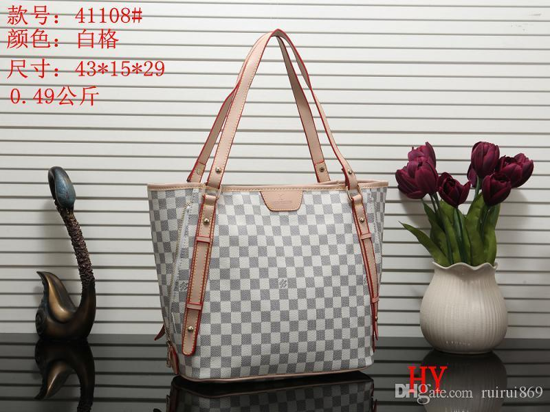 2019 Design Women's Handbag Ladies Totes Clutch Bag High Quality Classic Shoulder Bags Fashion Leather Hand Bags Mixed Order Handbags H-048
