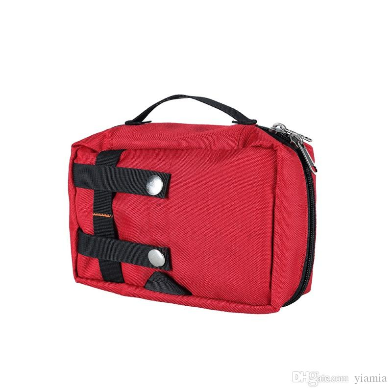 First Aid Kit Emergency Medical Bag Outdoor portátil impermeável kits de viaturas saco Camping Viagem Kit de sobrevivência do saco vazio Househld