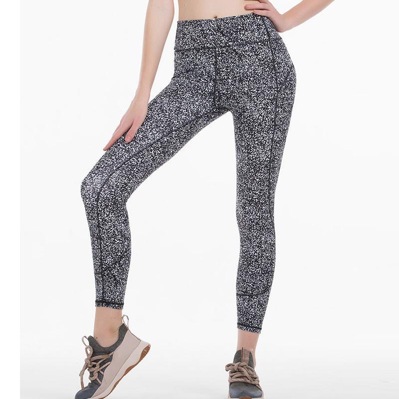 2020 woman Sports 7/8 skinny pants super quality stretch fabric black blue wine red leggings Y200328