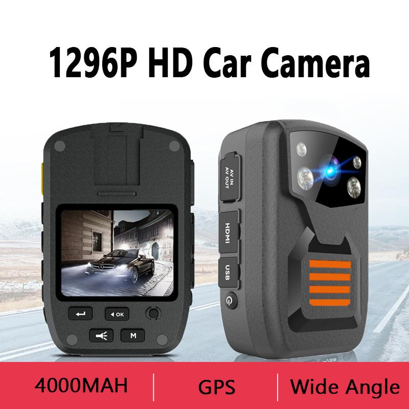 تجار الجملة محفظة 5pcs 36MP كاميرا الجسم البالية HD كاميرا 1296P سيارة DVR مسجل فيديو أمن الشرطة 170 درجة IR للرؤية الليلية كاميرات الفيديو الرقمية البسيطة
