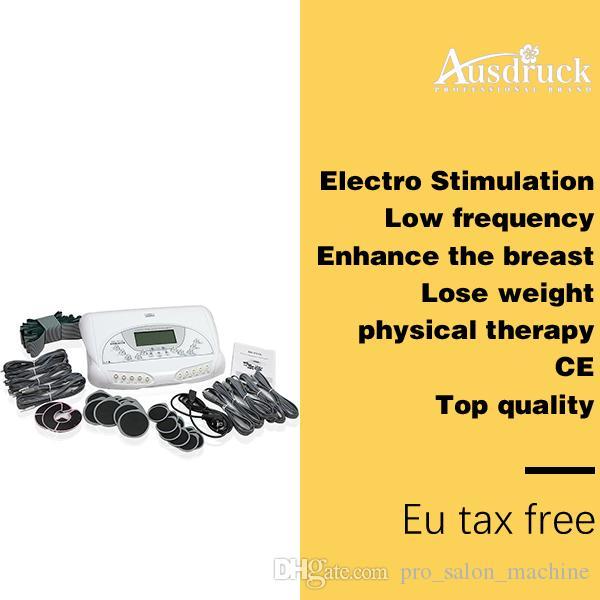 Nuevo cuerpo de microcorriente Tighten Lift Tone Fitness Slim Electro Stimulation Spa Machine