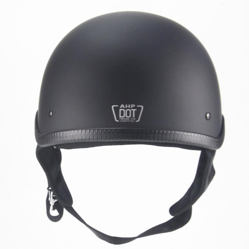 Retro exquisito Medio casco hombres y de mujeres casco de la motocicleta durable Scooter eléctrico parcialmente cubiertas de verano