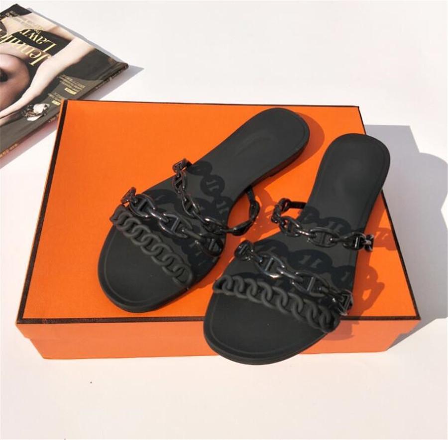 Yüksek Topuklar Terlik Kadınlar Renkli Yüksek Topuklar Terlik Bayanlar Yaz Kadın Ayakkabı On Kayma 2020 Yeni Klasikler Kayış Terlik Bayanlar # 793