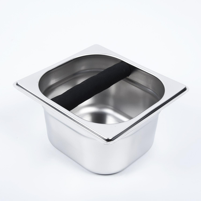 1x CAFÉ KNOCK BOX Compact Grinds Accessoires Tamper Tamp Grind outil de cuisine Café Thé Expresso Cafetière outils Accessoires