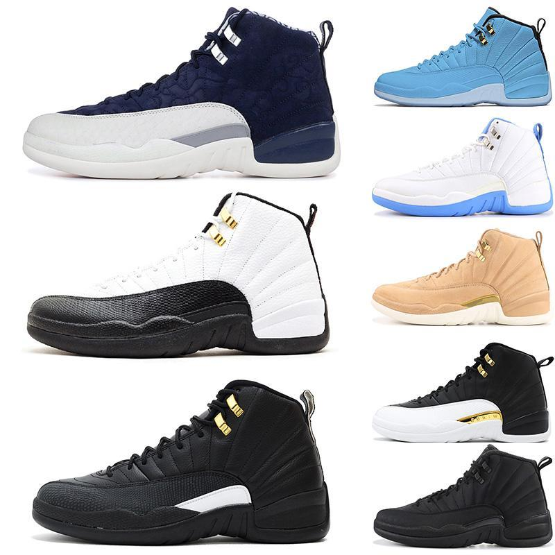 Yeni Geliş Xii 12 Basketbol Ayakkabı Erkek Ov Siyah Mastergamma Mavi Salonu Kırmızı Üniversitesi Mavi 12s Yeni Ayakkabı Spor Sneakers Eğitmenler 7-13