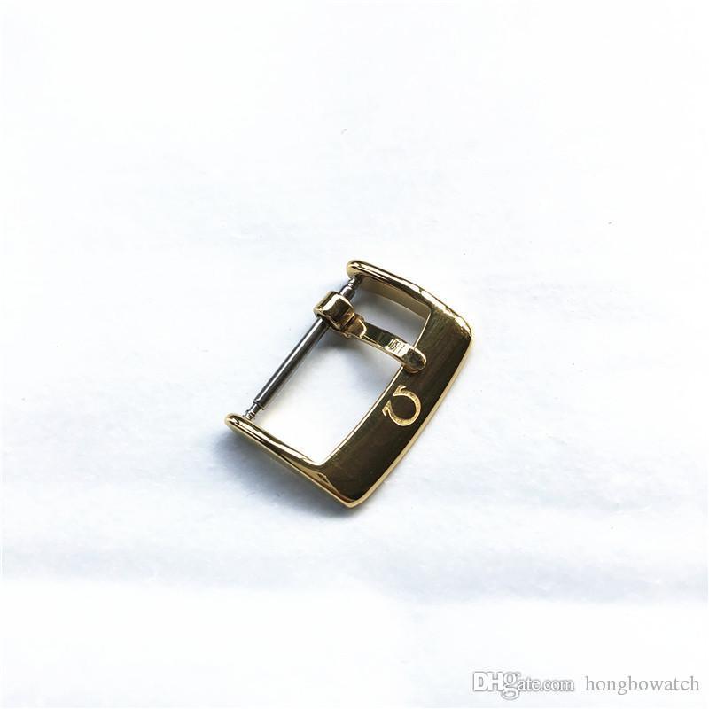 New de haute qualité de remplacement des accessoires de sangle de mode boucle broche métallique en acier inoxydable boucle 14/16/18/20 mm