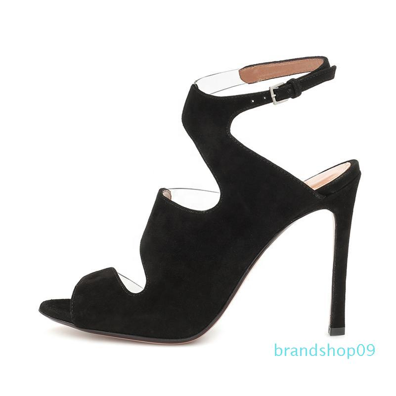 Goddess2019 With Fine Toe One Word Type Hasp Wind Woman Sandals Grace
