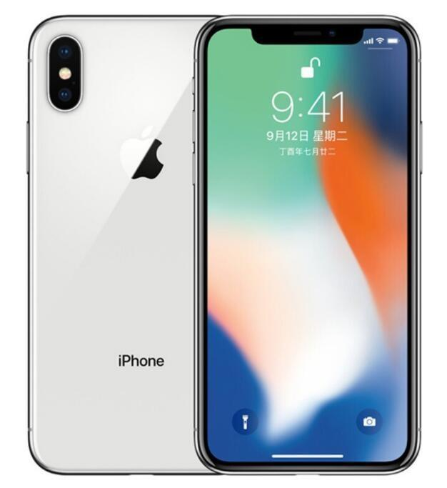 Original Apple iPhone X Without Face ID 64GB/256GB iOS 13 5.8inch 12MP Dual Rear Camera Refurbished Unlocked Cell Phones