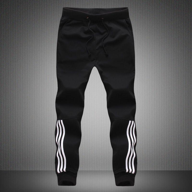 Осень Зима Толстые ватки Jogger мужские брюки хлопок Брюки Мужчины Зима теплая бархатная Sweatpants Tracksuit Joggers Pantalon Homme