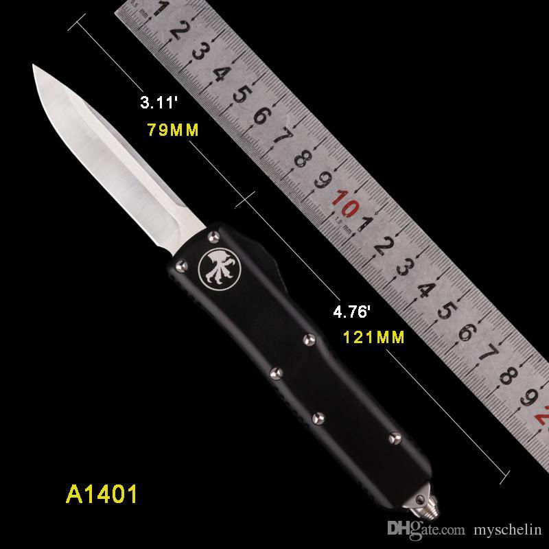 SCHELIN MIKRO BıÇAK BIÇAK ÇIFT EYLEM Taktik bıçaklar ücretsiz kargo utx çakı 85 D2 blade katlanır bıçaklar siyah renk kolu araçları
