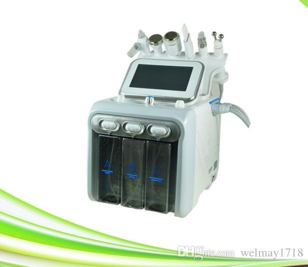 6 in 1 spa skin cleaning ultrasonic scrubber water oxygen jet peel face lift oxygen peeling jet oxygen jet