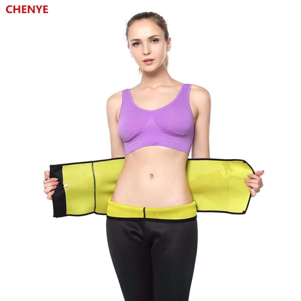 wholesale 2019 Shapers Trainer Cintura Slimming Belt Compressão Ajustável Shaper Do Corpo Cintos de Cintura Neoprene Lingerie Espartilhos