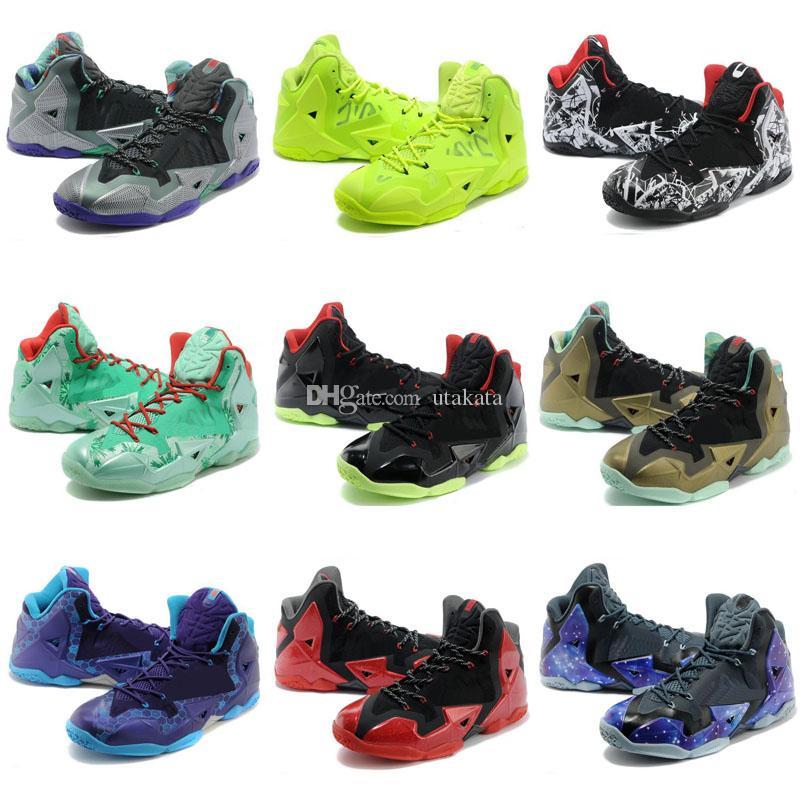2018 New #23 What the 11 XI Star South Coast BHM Graffiti Basketball Shoes хорошее качество супер многоцветные мужские кроссовки спортивные кроссовки 7-12