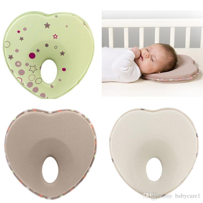 الأطفال الرضع الدعم الرأس على شكل النوم راحة مكافحة لفة وسادة التمريض وسادة الطفل لمنع شقة