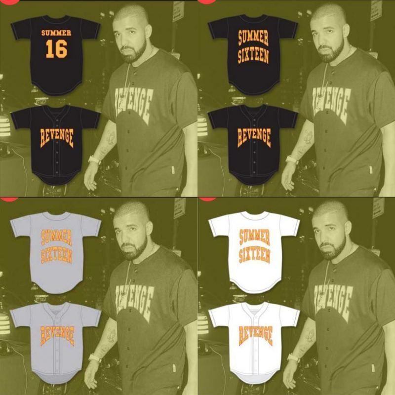 2021 16 Drake Summer Revenge Baseball Jersey Movie Personalized ...